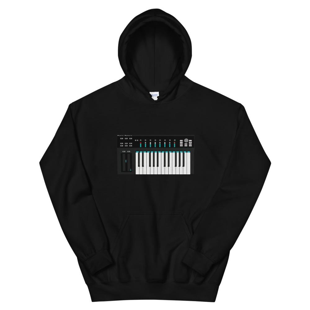 The World of T's Hoodie Black / S Midi Controller Hoodie
