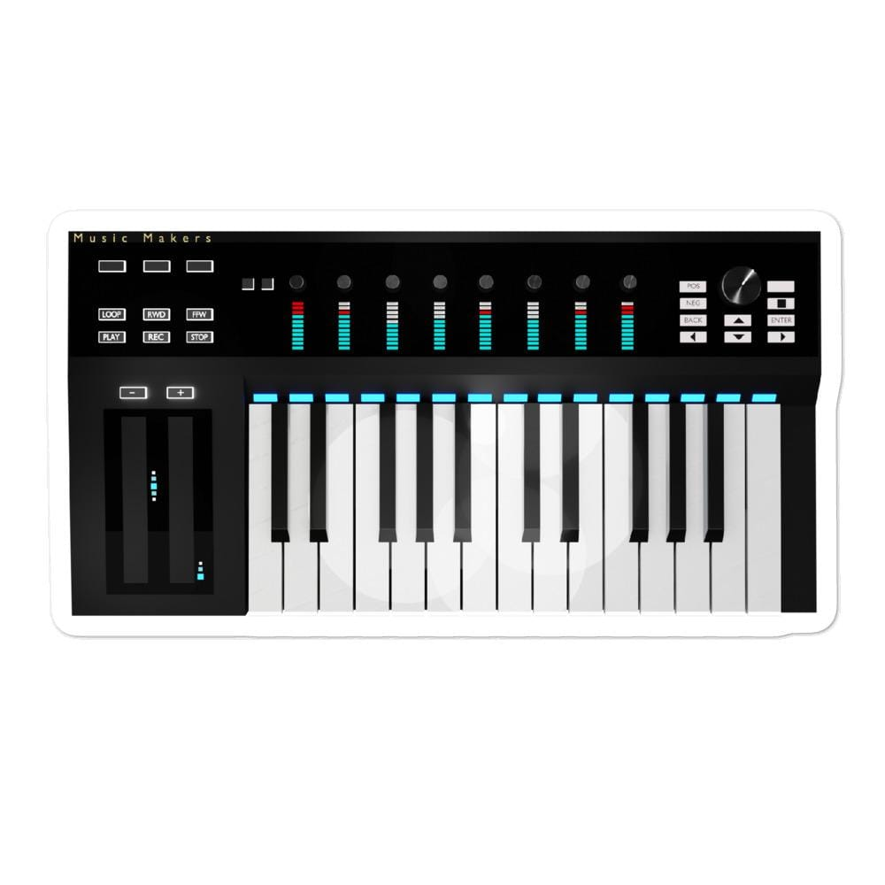 The World of T's Sticker 5.5x5.5 Midi Controller sticker