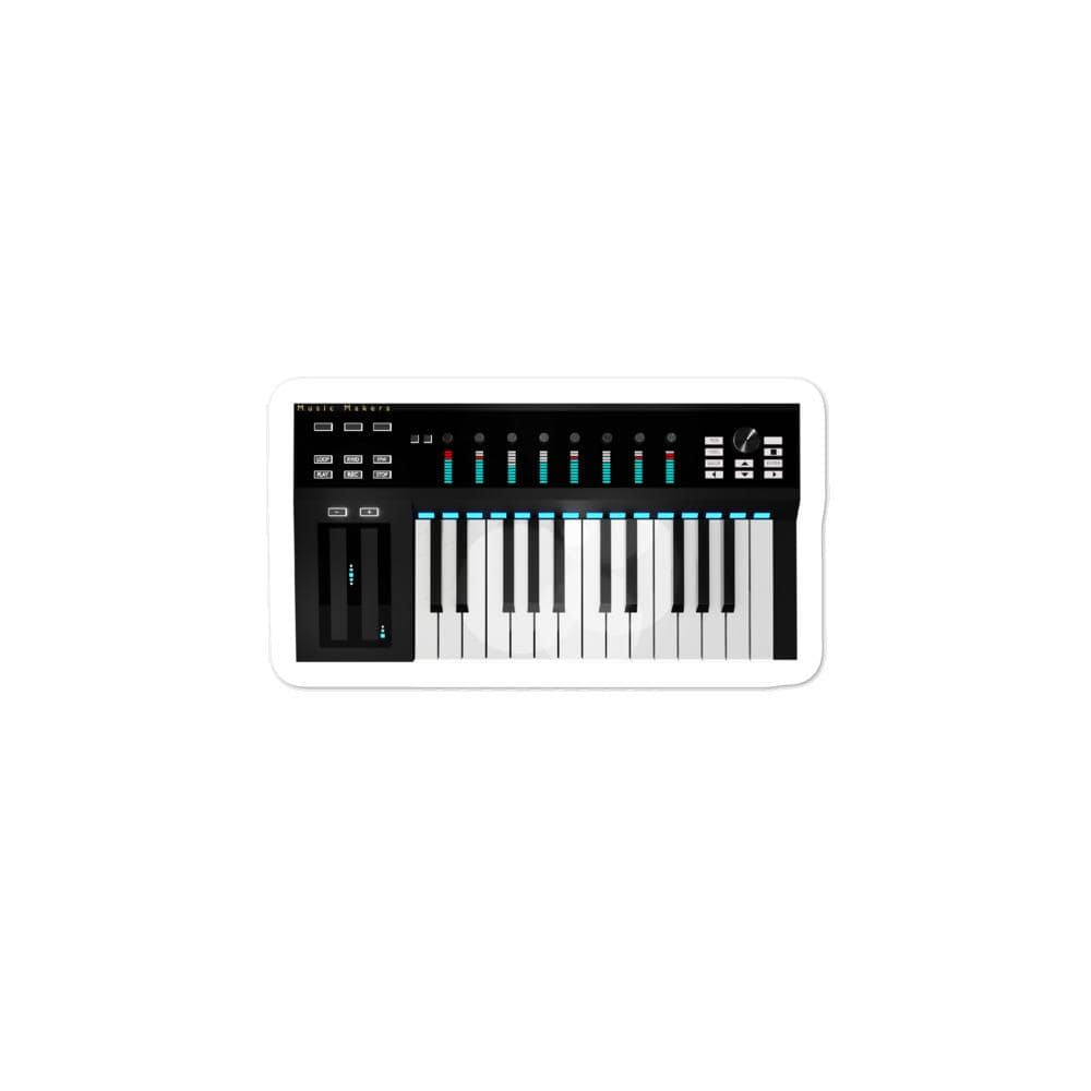 The World of T's Sticker 3x3 Midi Controller sticker