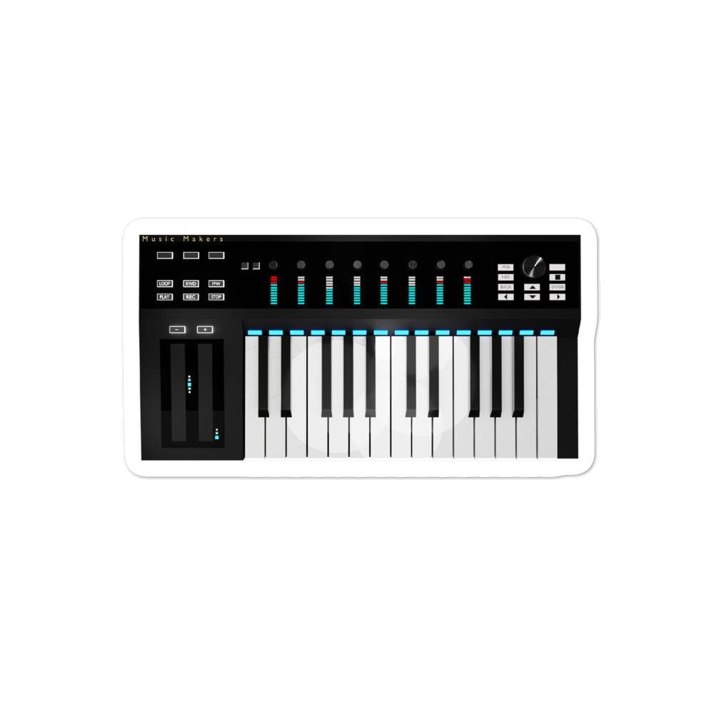 The World of T's Sticker 4x4 Midi Controller sticker