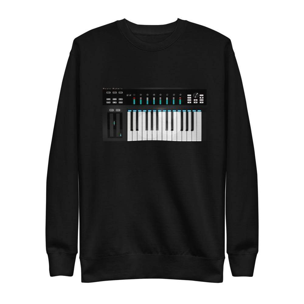 The World of T's Sweat Shirt Black / S Midi Controller Sweatshirt
