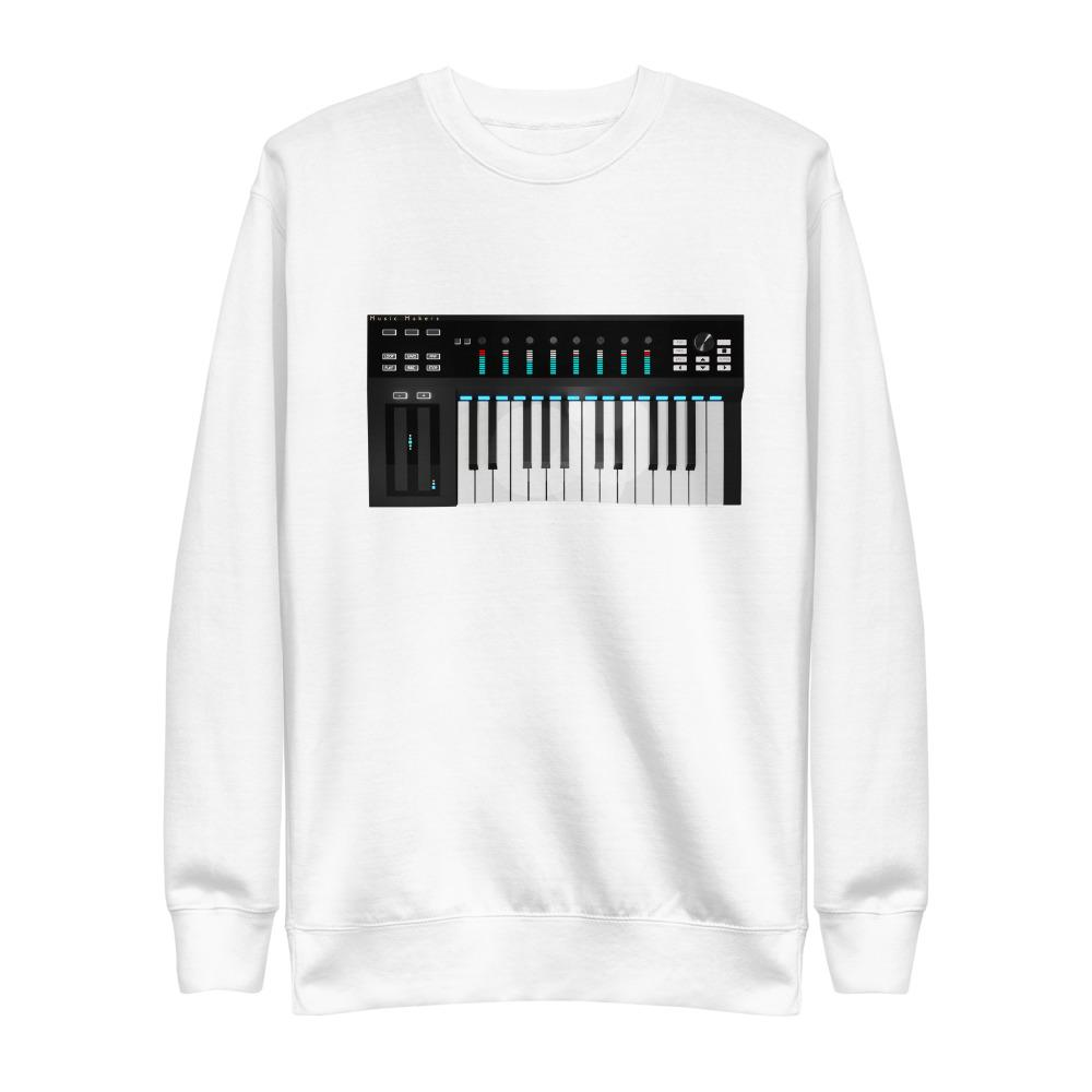 The World of T's Sweat Shirt White / S Midi Controller Sweatshirt