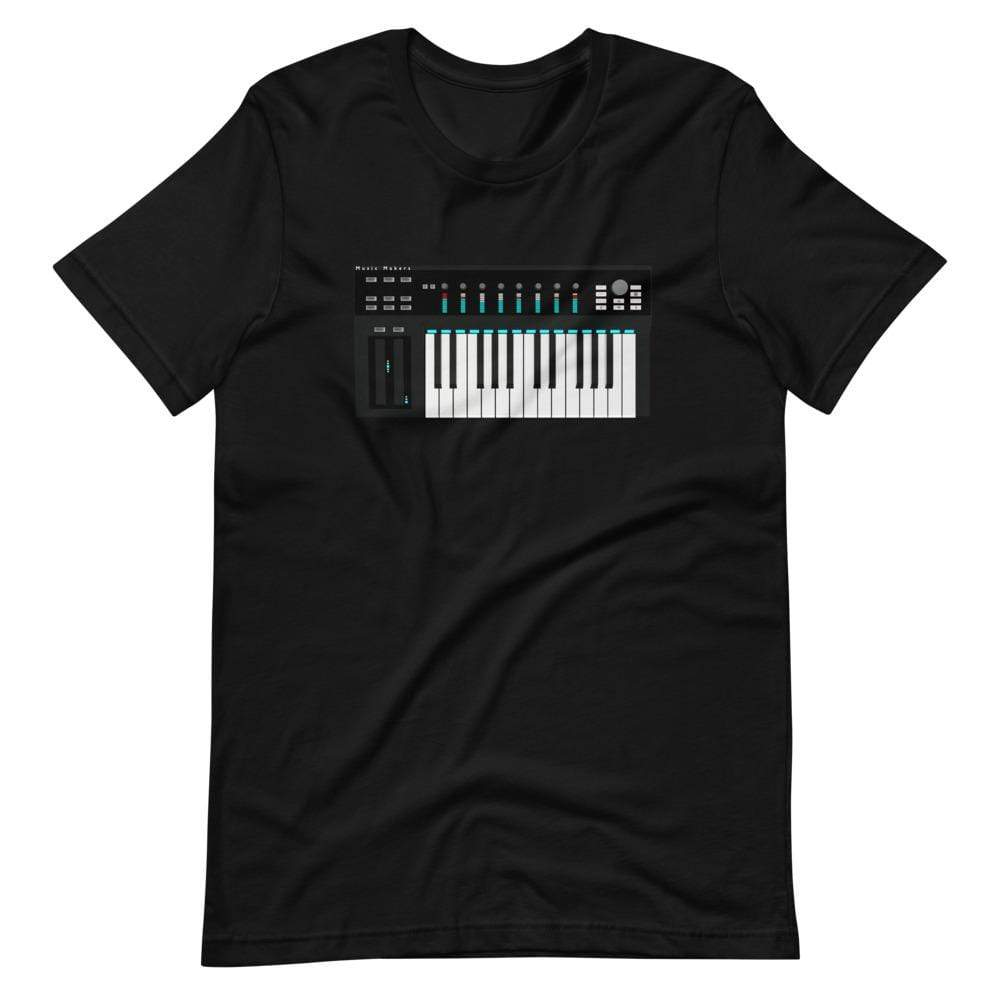 The World of T's T Shirt Black / S Midi Controller Tee
