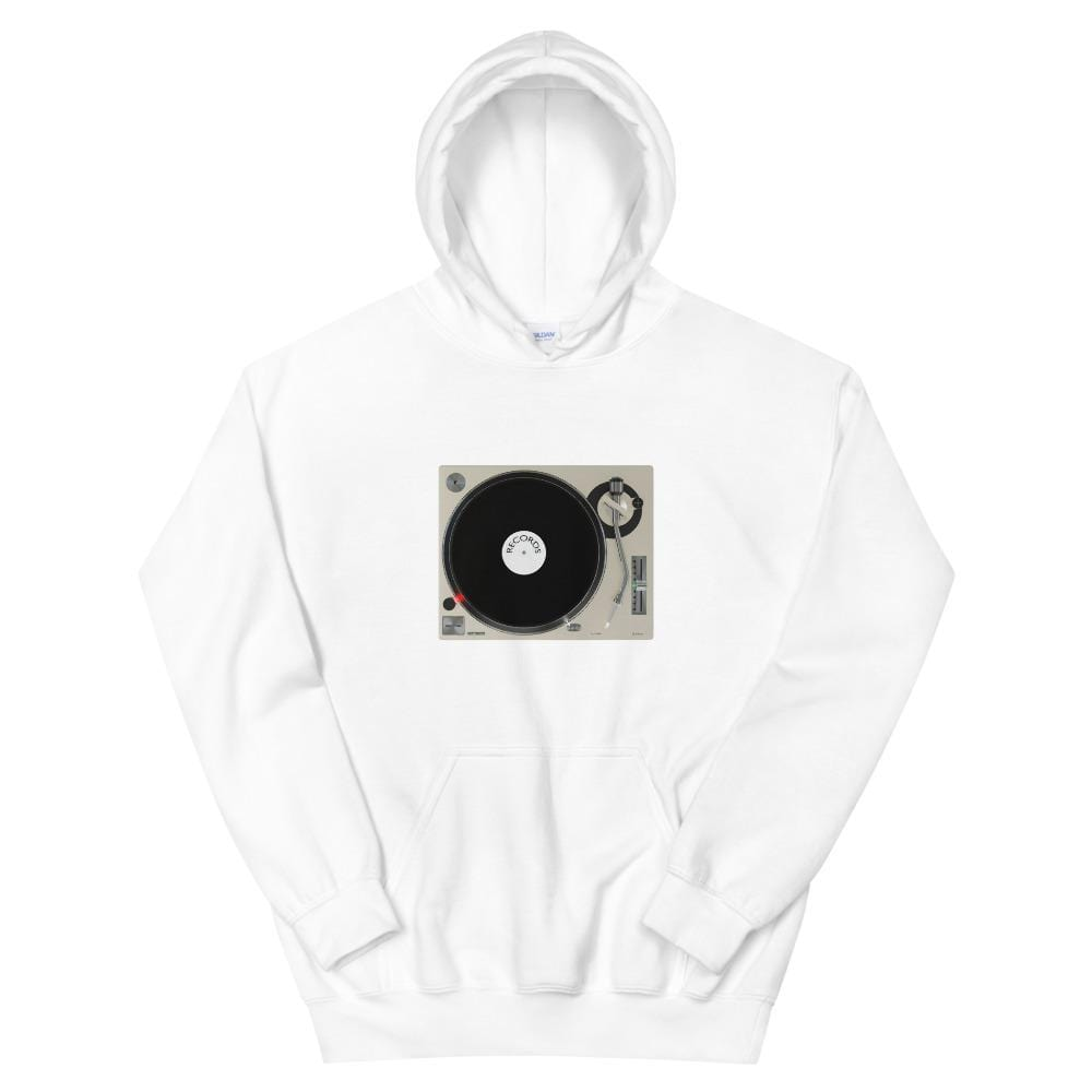 The World of T's Hoodie White / S Turntable Hoodie