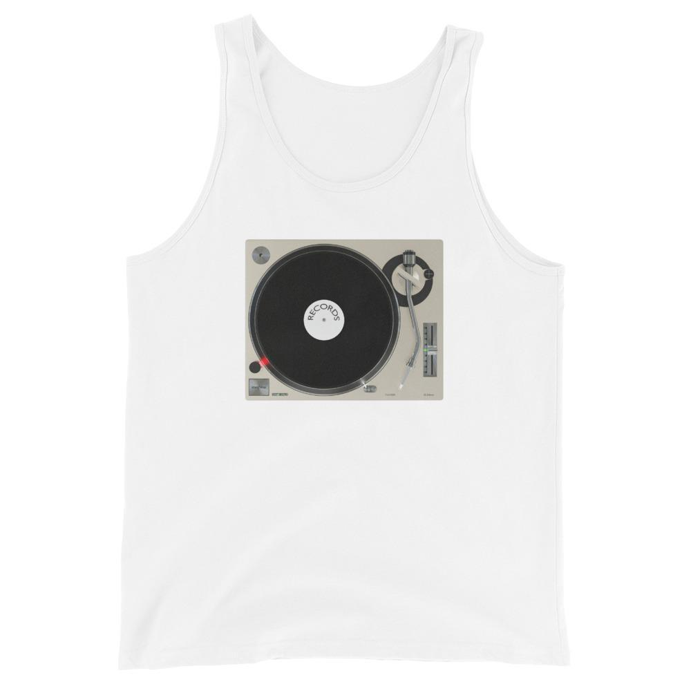 The World of T's Tank Top White / S Turntable Tank Top