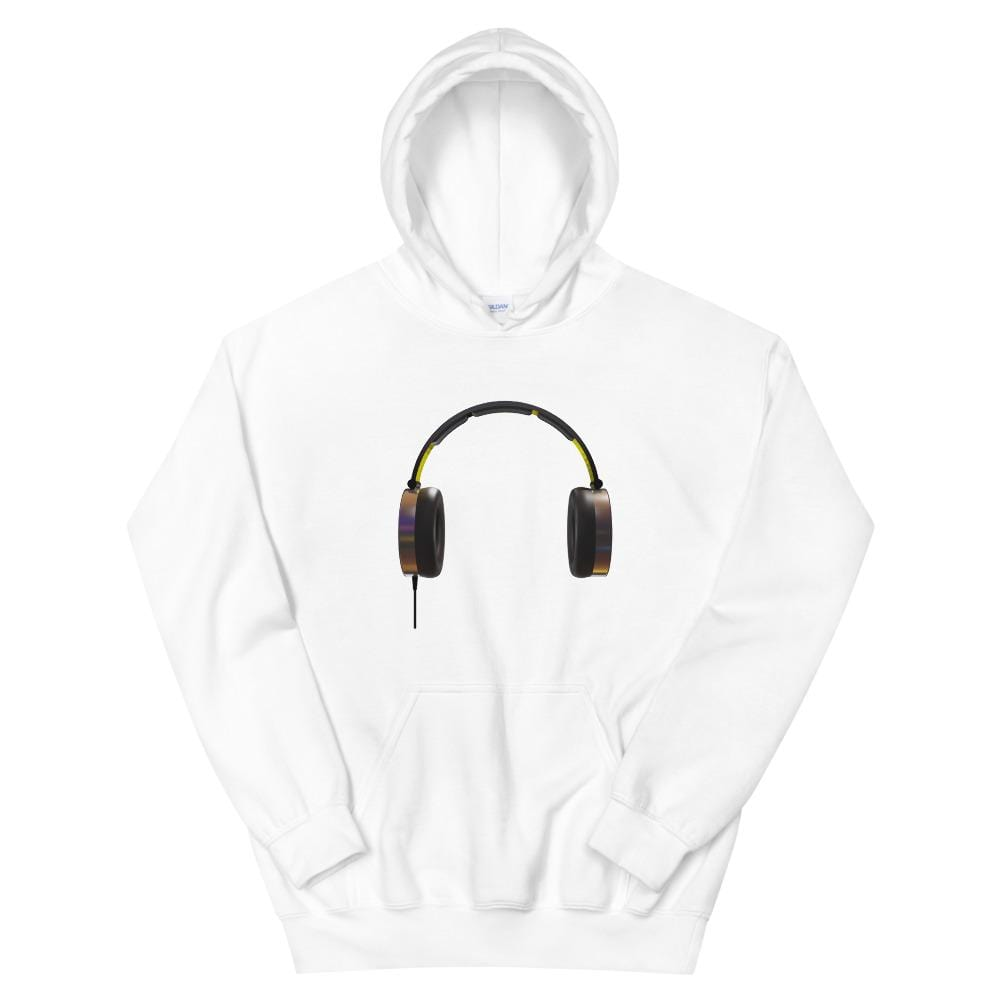 The World of T's Hoodie White / S Women's Headphones Hoodie