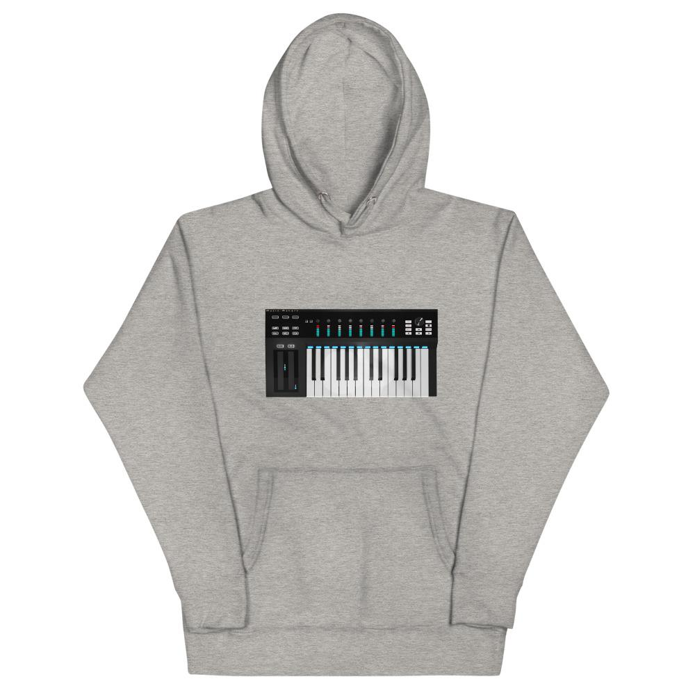 The World of T's Hoodie Carbon Grey / S Women's Midi Controller Hoodie