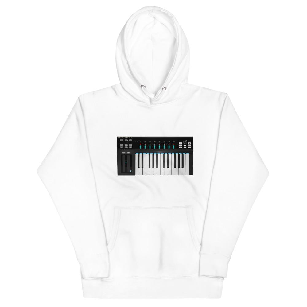 The World of T's Hoodie White / S Women's Midi Controller Hoodie