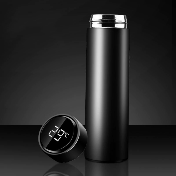 Temperature Display Insulated Coffee bottle - A&A Shoppers