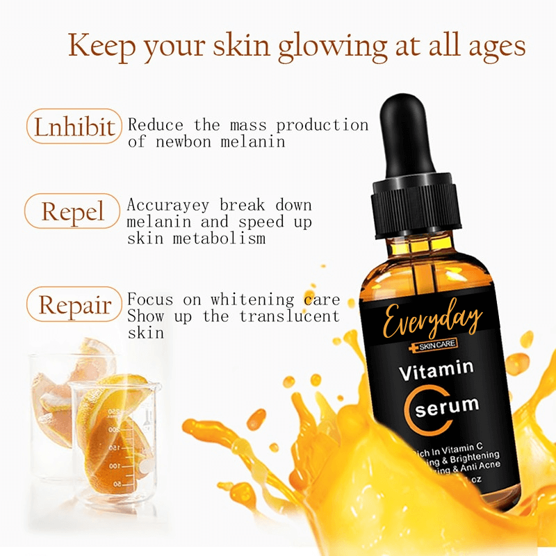 Glow-up Vitamin-C Serum (Buy 1 Get 1 Free)