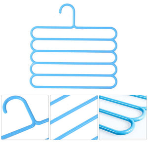 Deluxe Multi Layer Hanger - Pack of 5 - A&A Shoppers