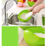 Rice Drain Bowl - A&A Shoppers