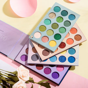 ALL IN 1 EYESHADOW PALETTE (60 Shades-Multicolor)