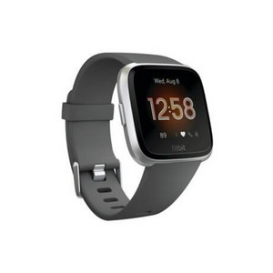 Fitbit Versa - Smart Watch with Heart Rate Monitor - Lite Edition - S/L - Charcoal
