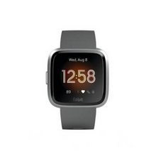 Load image into Gallery viewer, Fitbit Versa - Smart Watch with Heart Rate Monitor - Lite Edition - S/L - Charcoal