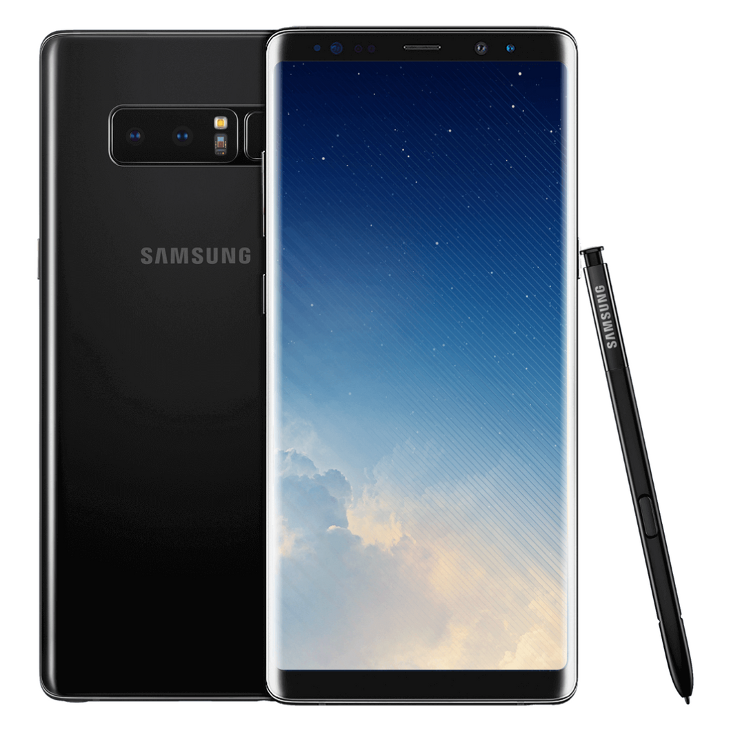 SIM Free Samsung Galaxy Note 8 64GB Unlocked Mobile Phone - Black