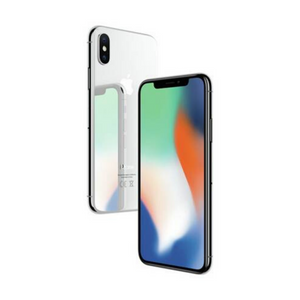 SIM Free iPhone X 64GB Mobile Phone - Silver - Unlocked