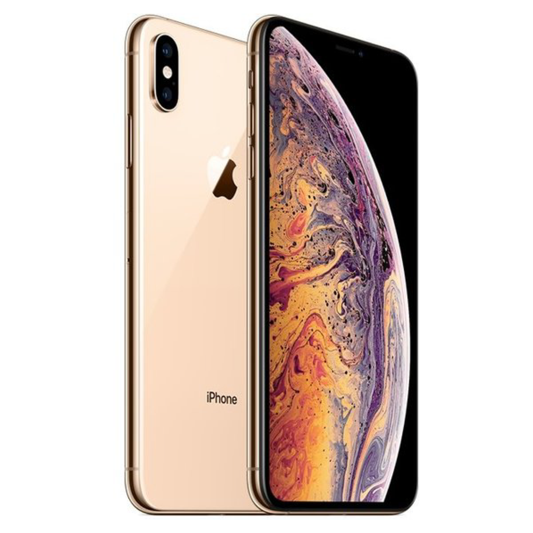 Sim Free Unlocked Apple iPhone Xs Max 64GB Mobile Phone - Gold