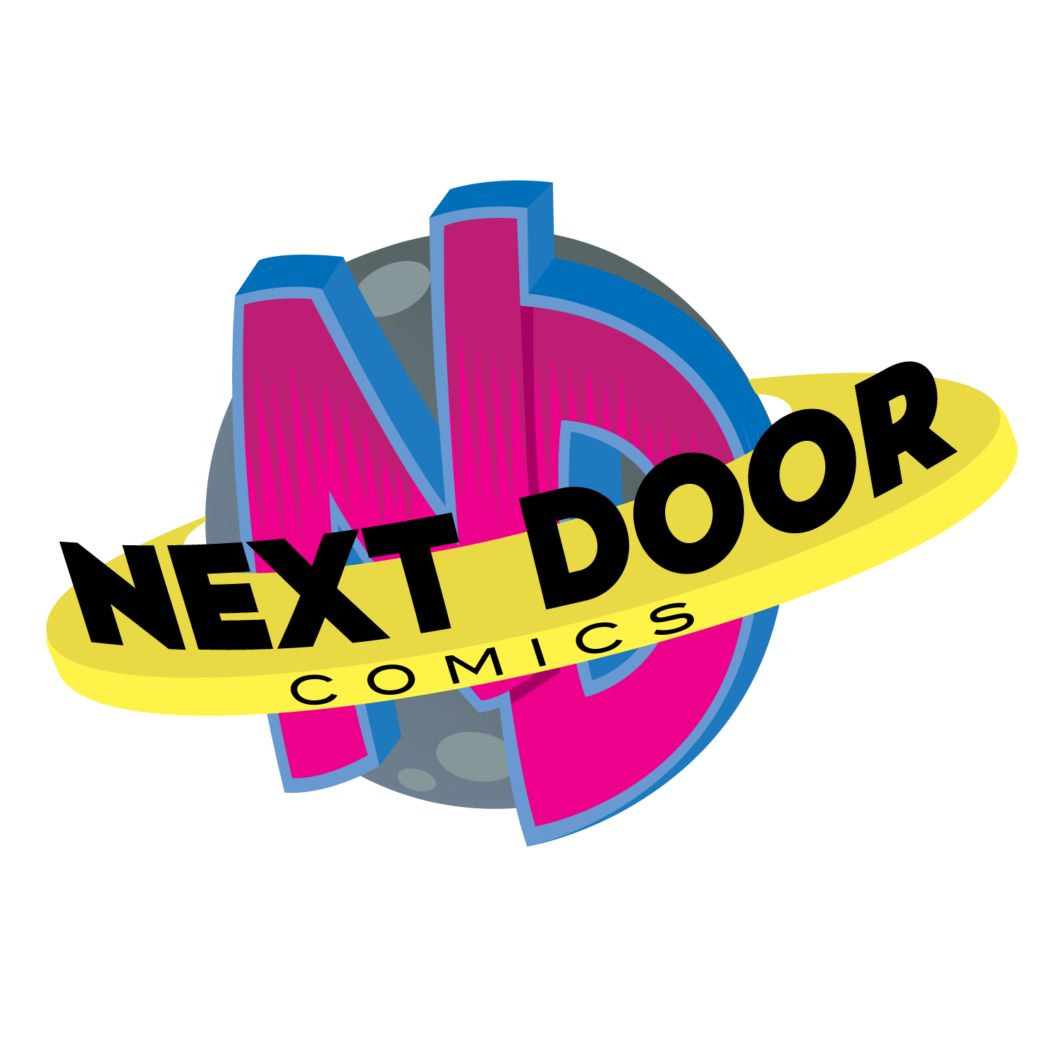 Next door comics logo