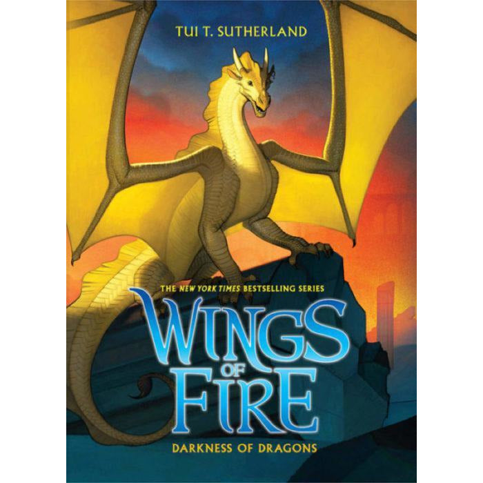 WINGS OF FIRE BOOK TEN: DARKNESS OF DRAGONS