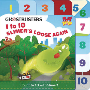 GHOSTBUSTERS: 1 TO 10 - SLIMER'S LOOSE AGAIN BOARD BOOK