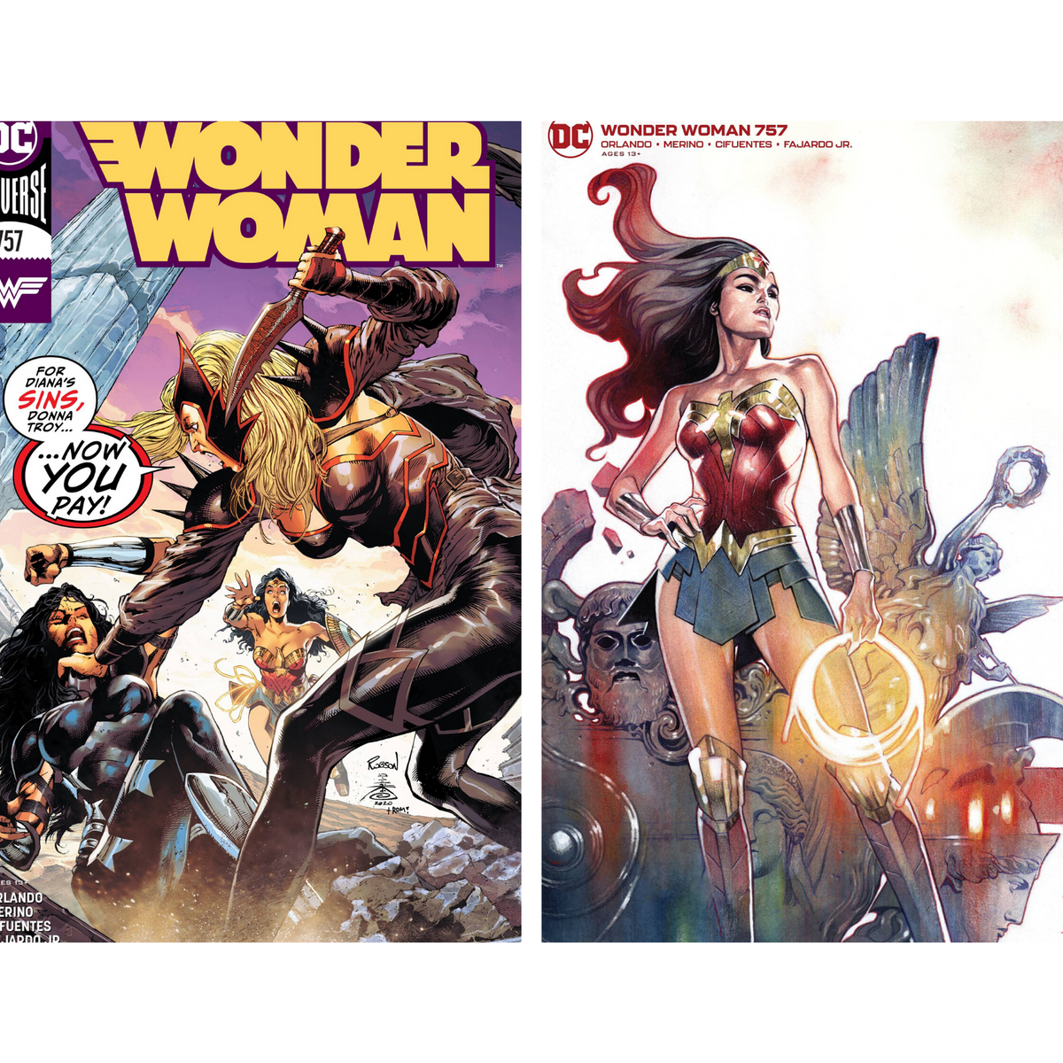 WONDER WOMAN #757 - PICK YOUR COVER - DC COMICS
