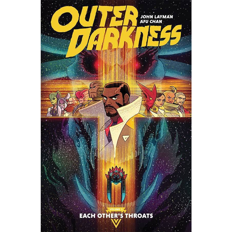 OUTER DARKNESS VOLUME 1: EACH OTHER'S THROATS