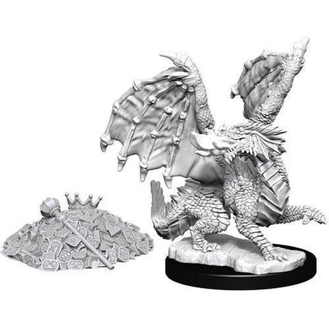 DUNGEONS & DRAGONS NOLZUR'S MARVELOUS UNPAINTED MINIATURES WAVE 10: RED DRAGON WYRMLING
