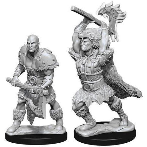 DUNGEONS & DRAGONS NOLZUR'S MARVELOUS UNPAINTED MINIATURES WAVE 10: MALE GOLIATH BARBARIAN