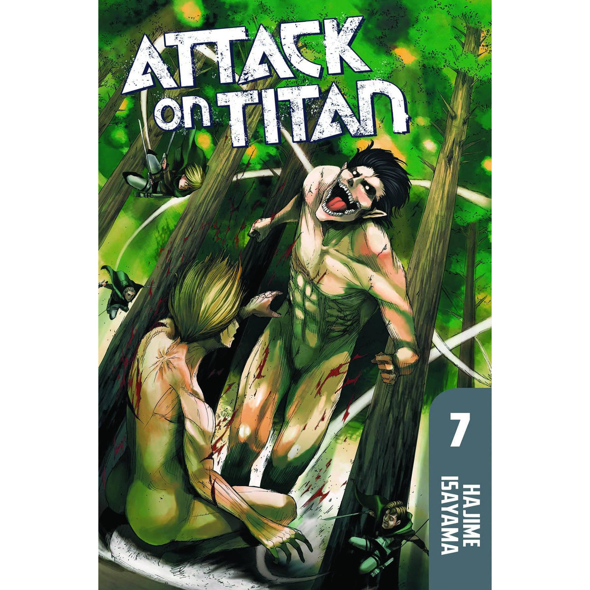 ATTACK ON TITAN VOLUME 07