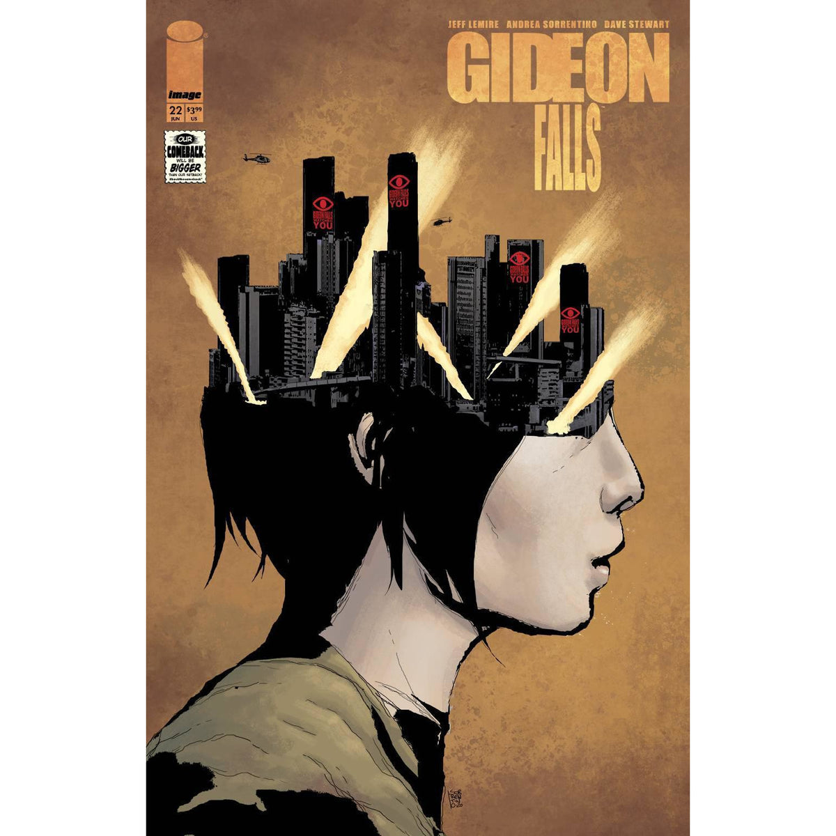 GIDEON FALLS #22 - PICK YOUR COVER - IMAGE COMICS - JEFF LEMIRE