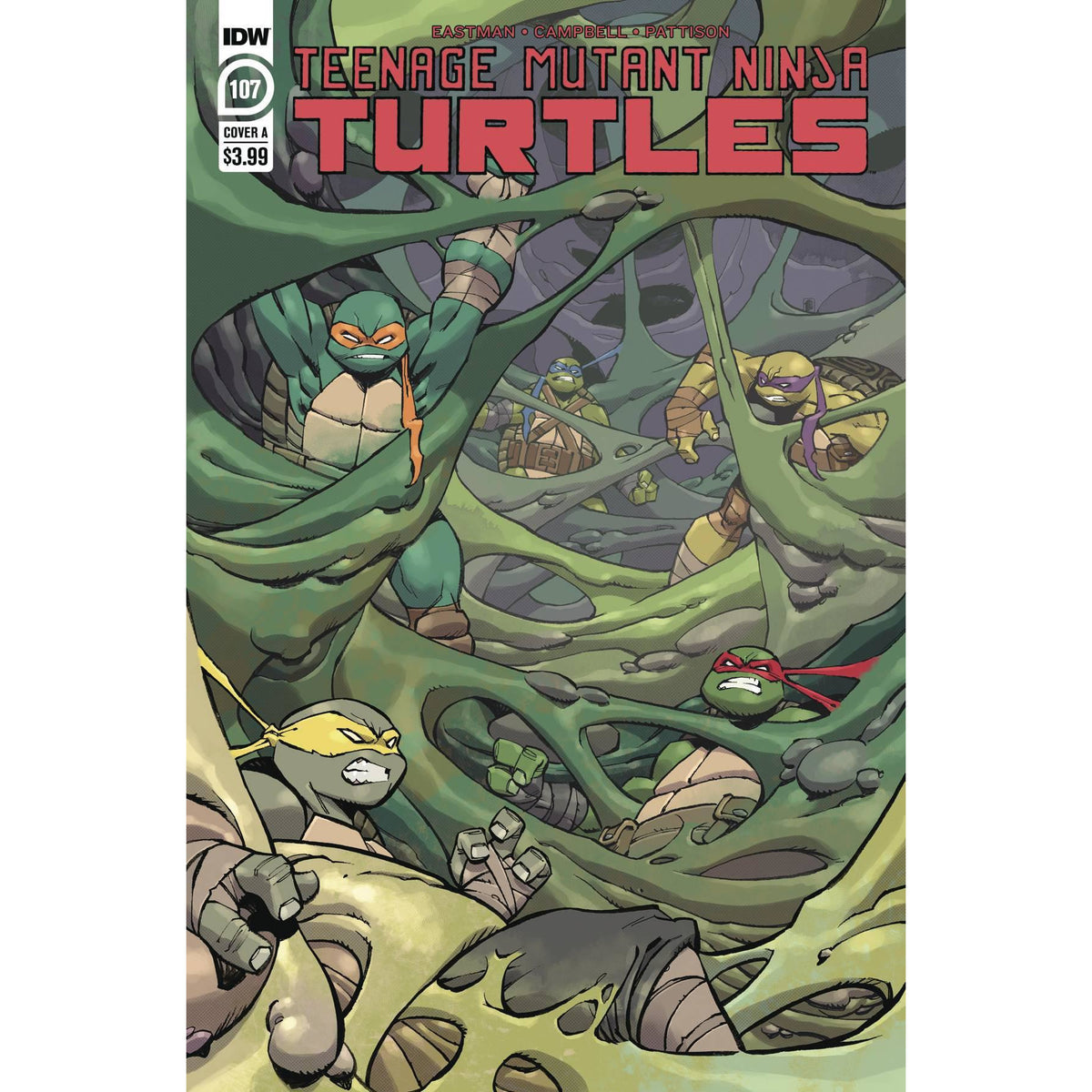 TMNT ONGOING #107 - DANIEL COVER A
