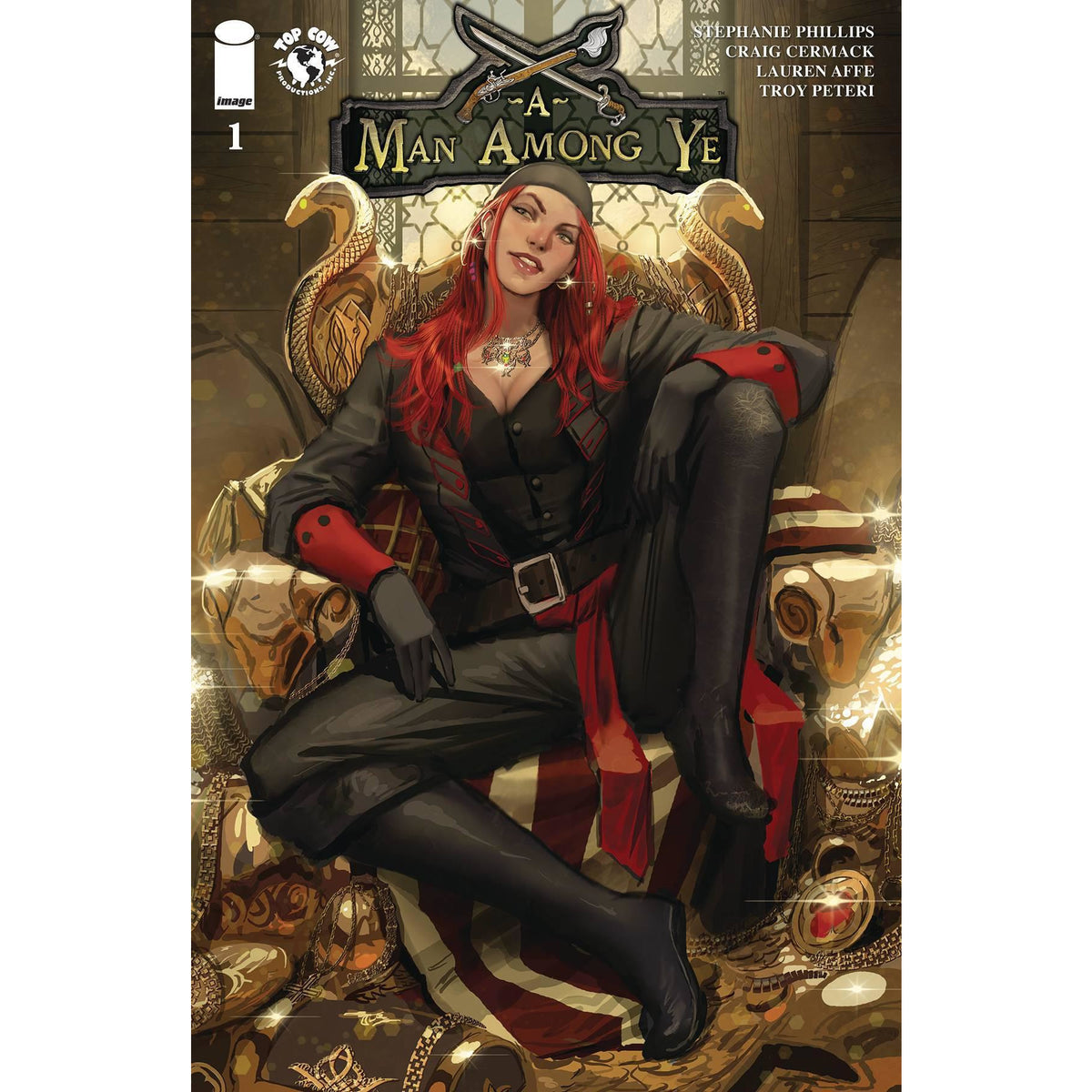 A MAN AMONG YE #1 - COVER B SEJIC