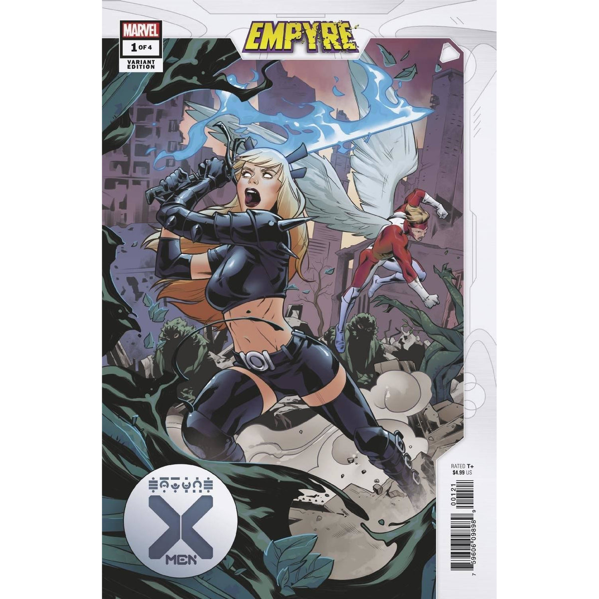 EMPYRE X-MEN #1 (OF 4) - RIBIC VARIANT COVER B