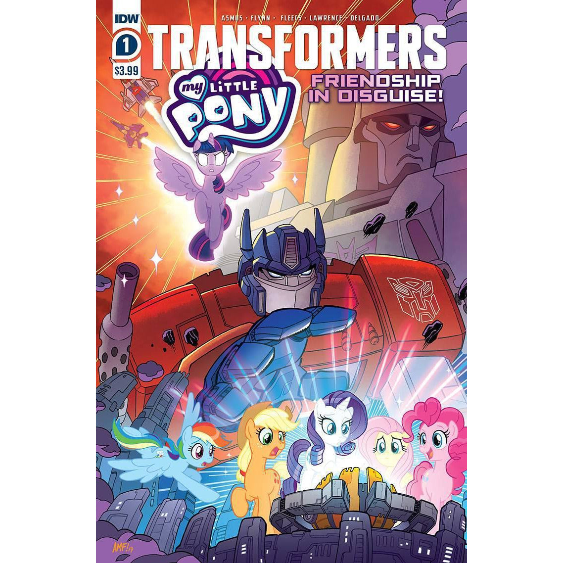 MY LITTLE PONY TRANSFORMERS #1 (OF 4) - FLEECS COVER A