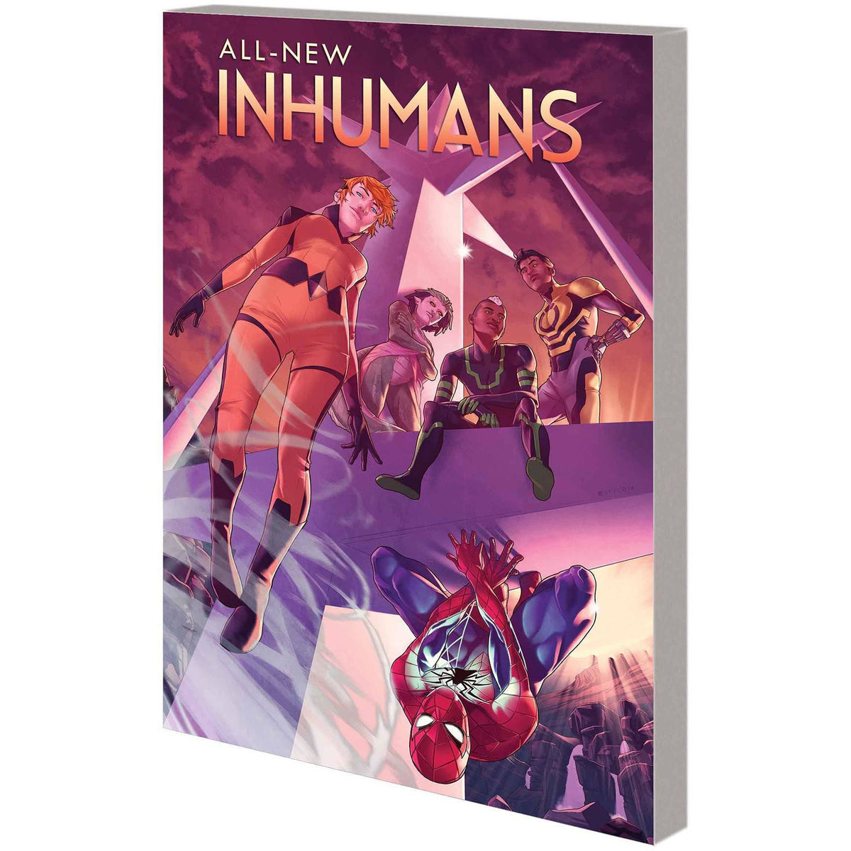 ALL NEW INHUMANS VOL 2 SKYSPEARS