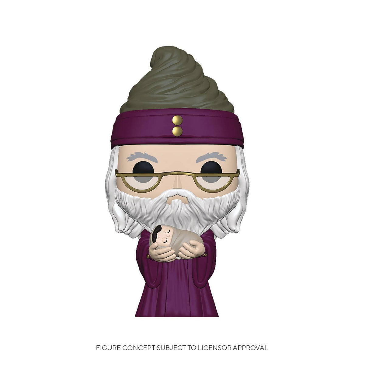 FUNKO POP HARRY POTTER: DUMBLEDORE WITH BABY HARRY VINYL FIGURE
