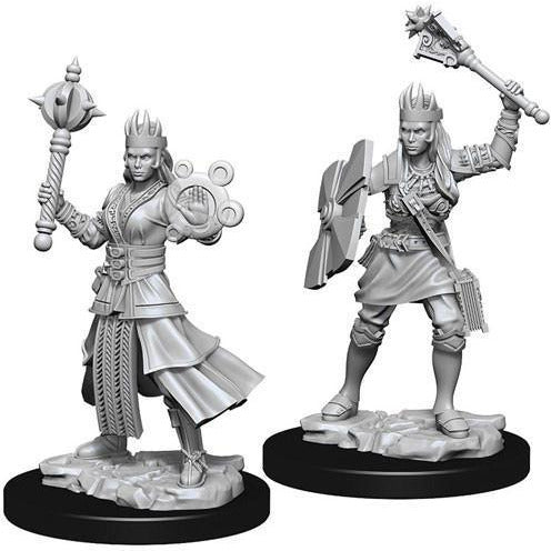 DUNGEONS & DRAGONS: NOLZUR'S MARVELOUS MINIATURES HUMAN CLERIC FEMALE