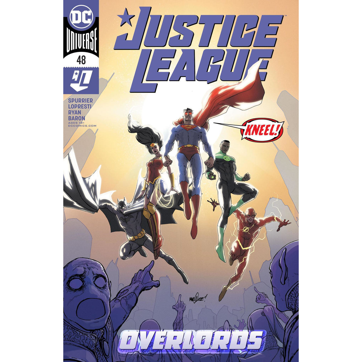 JUSTICE LEAGUE 48 - PICK YOUR COVER - DC COMICS