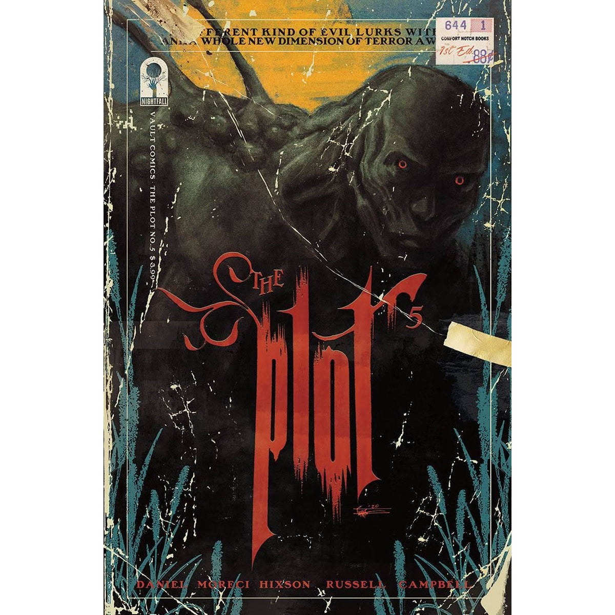 PLOT #5 - SHEHAN COVER B - VAULT COMICS