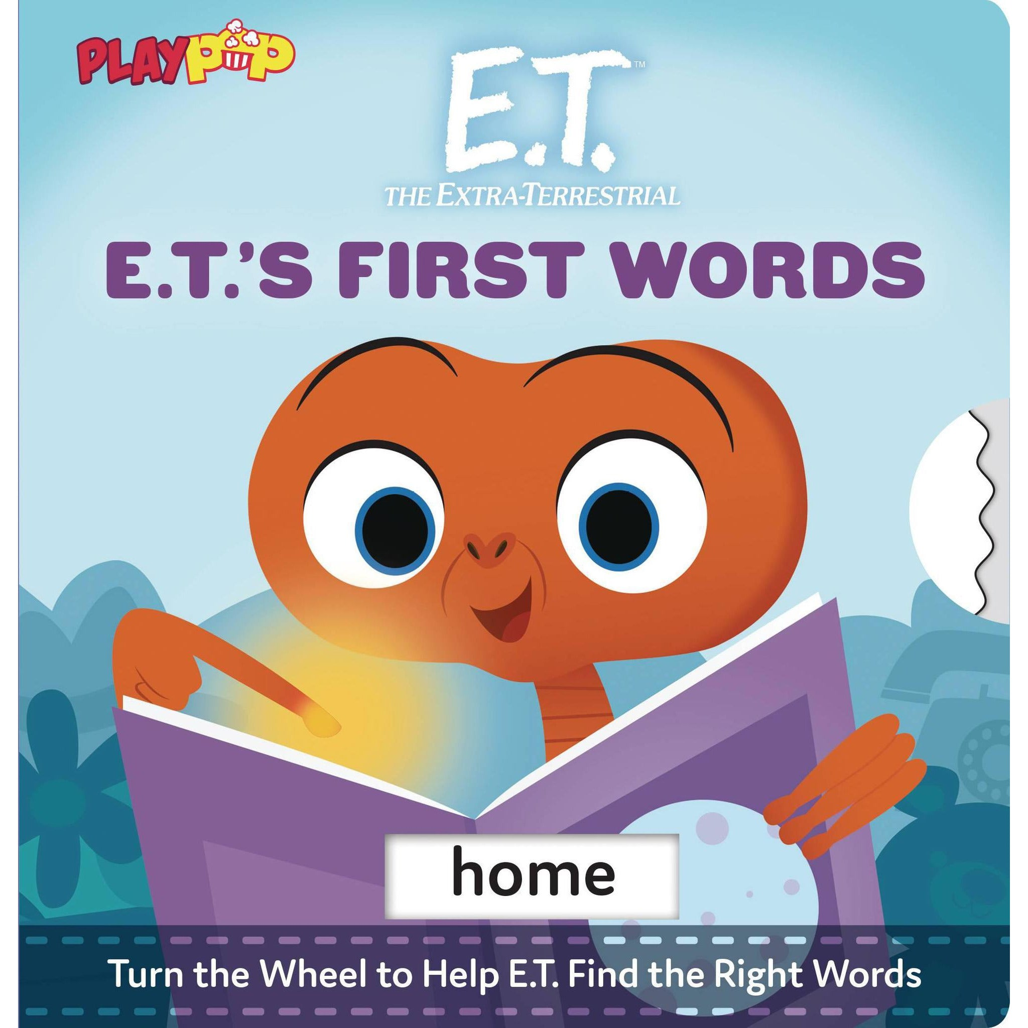 E.T. THE EXTRA TERRESTRIAL'S FIRST WORDS BOARD BOOK