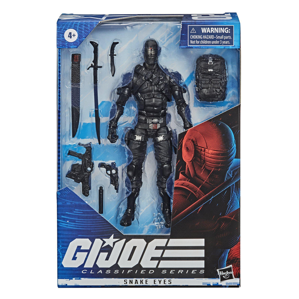 G.I. JOE CLASSIFIED SERIES - SNAKE EYES ACTION FIGURE