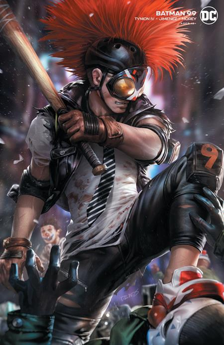 BATMAN #99 COVER B DERRICK CHEW CARD STOCK VARIANT (JOKER WAR)