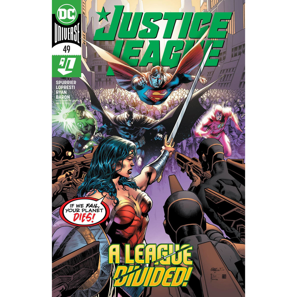 JUSTICE LEAGUE #49 - MAIN COVER A