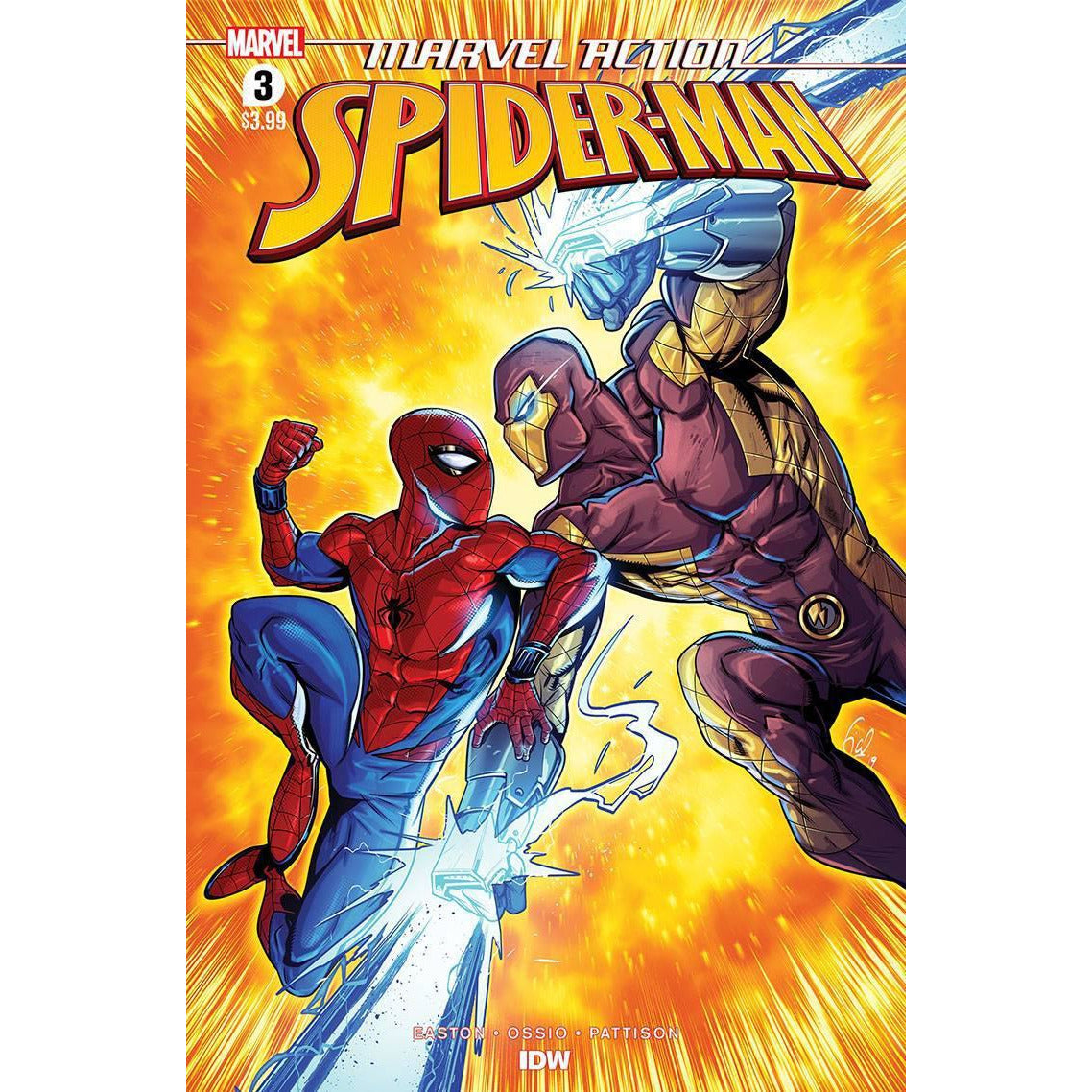 MARVEL ACTION SPIDER-MAN (2020) #3 - OSSIO MAIN COVER