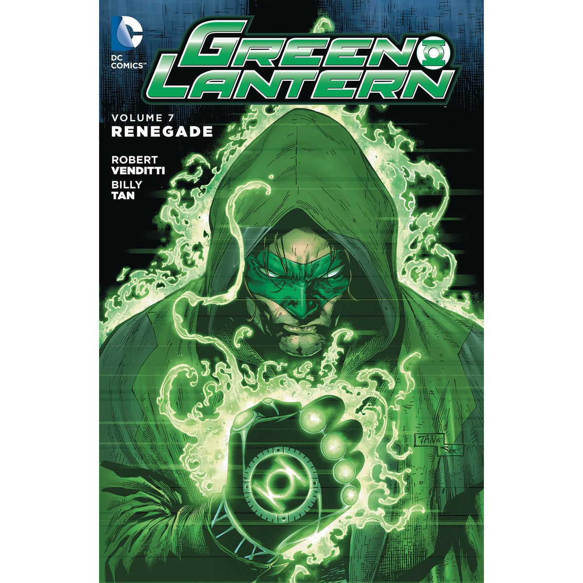 GREEN LANTERN HC VOL 7 RENEGADE