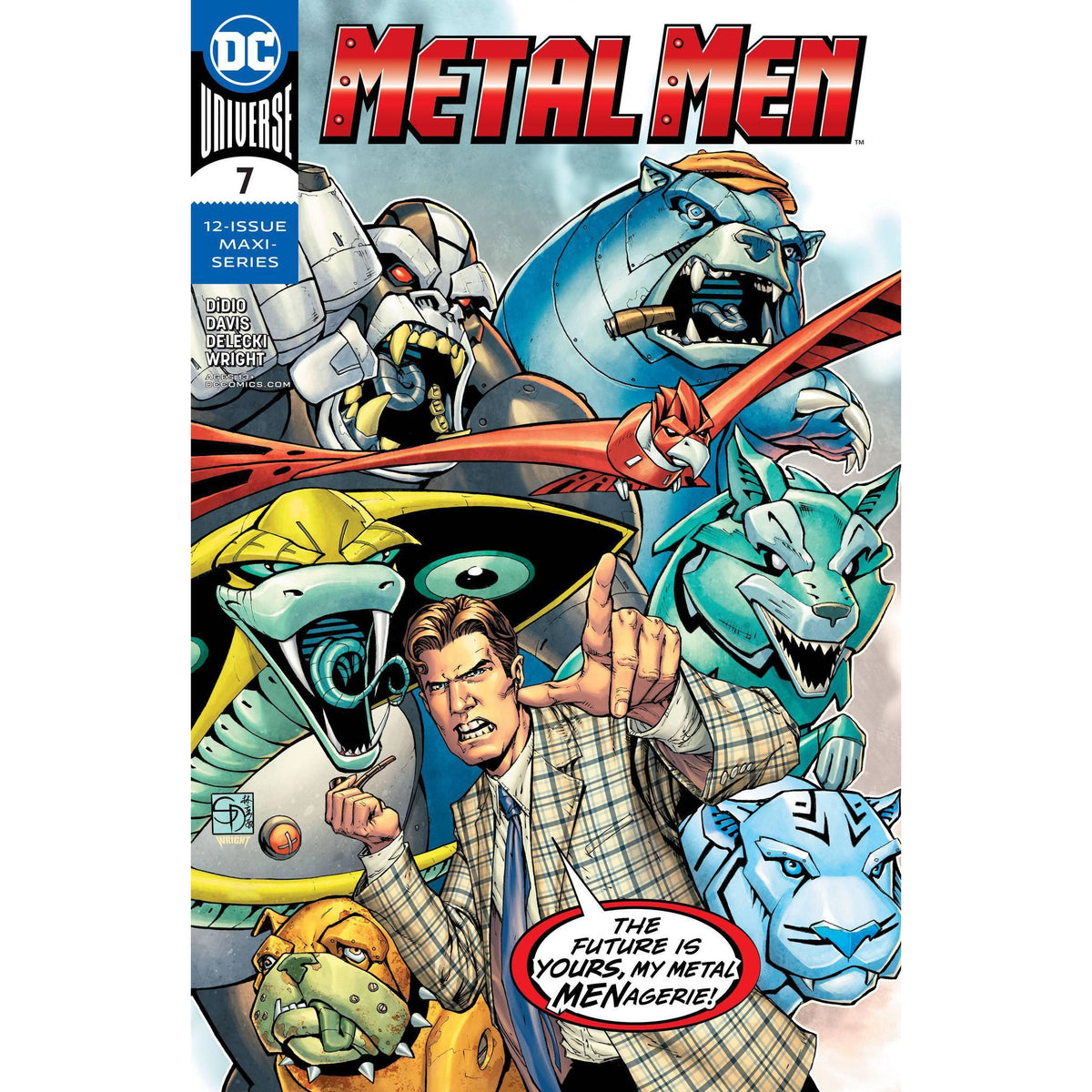 METAL MEN #7 (OF 12) - MAIN COVER