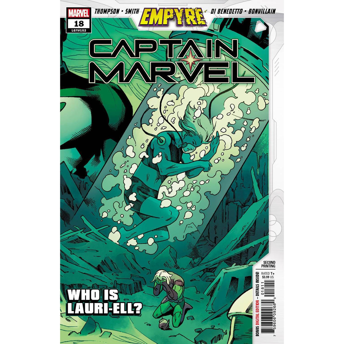 CAPTAIN MARVEL #18 2ND PRINTING SMITH VARIANT