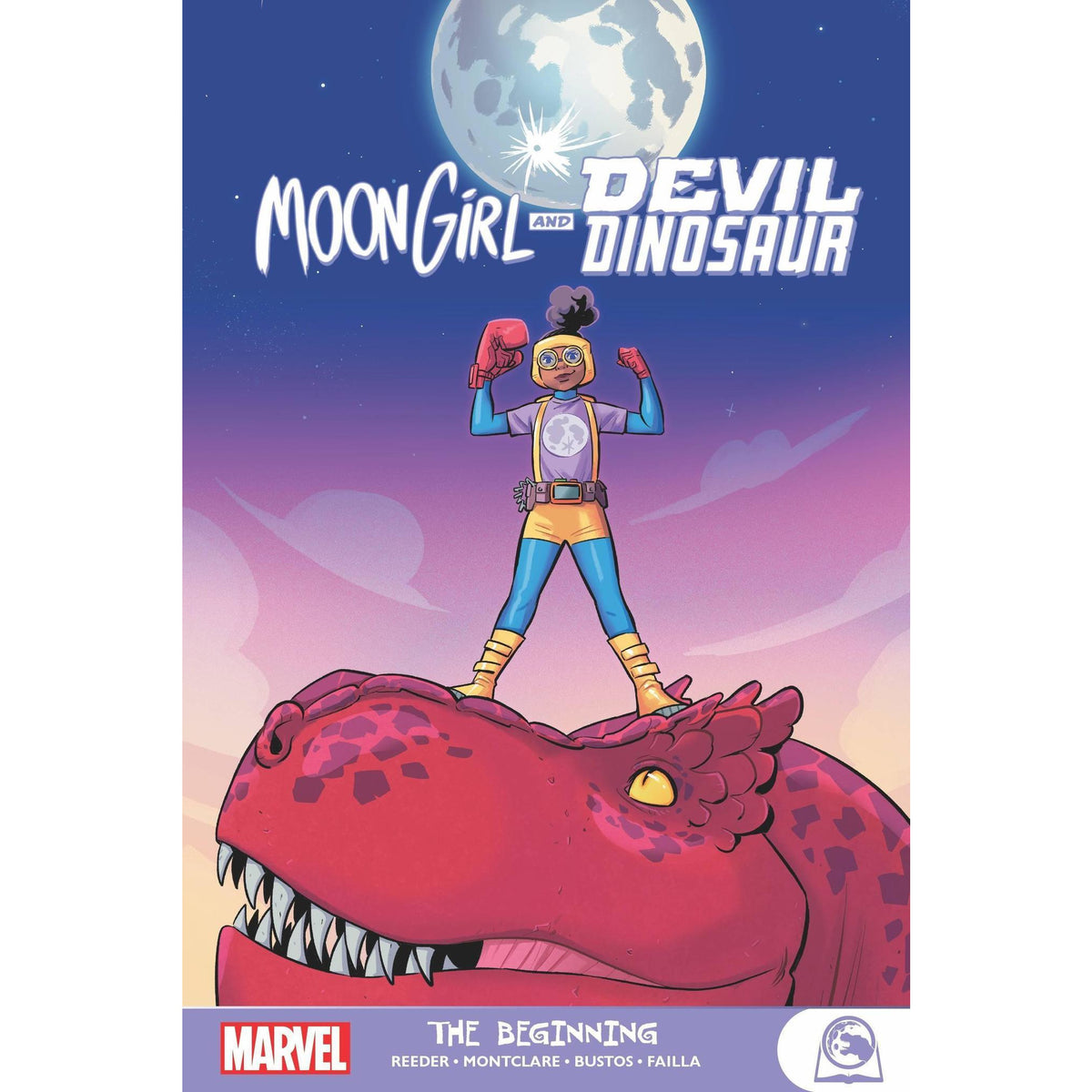 MOON GIRL AND DEVIL DINOSAUR VOLUME 01: THE BEGINNING