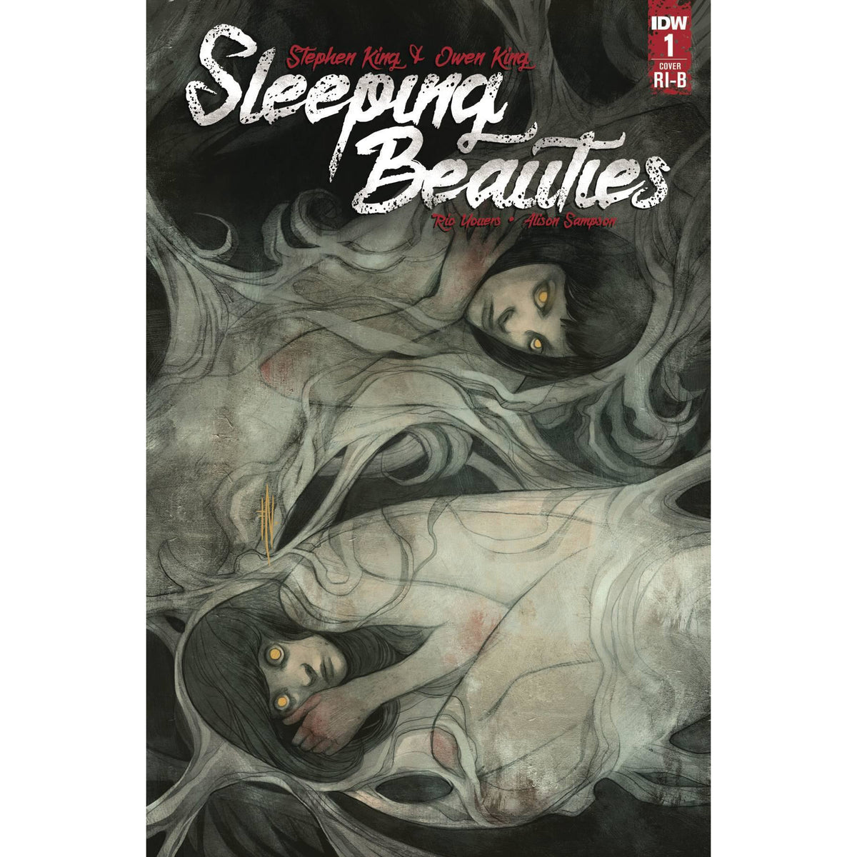 SLEEPING BEAUTIES #1 (OF 10) - 1:25 DIANA NANEVA COVER D - IDW COMICS